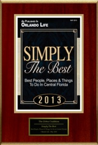 Simply the Best Award